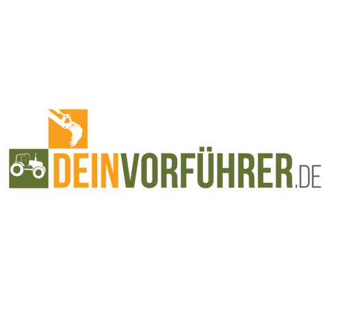 Logo-Design für Online-Marktplatz speziell für die Land- und Baumaschinenbranche