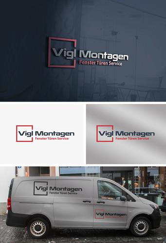 Logo-Design für die Reparatur & Montage von Fenstern und Türen