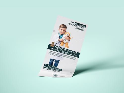Flyer-Design für Aktionstag einer Teddy-Klinik gesucht