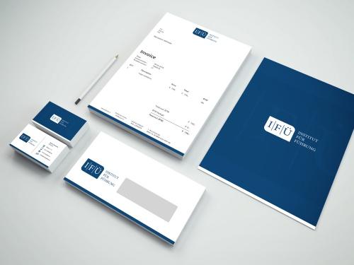 Corporate Design für Institut im Bereich der Führungskräfteausbildung