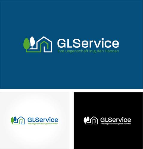 Logo-Design für Reinigungs- und Gartenarbeiten