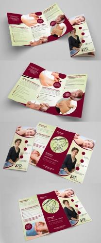 Flyer-Design für Unternehmen der Alternativmedizin