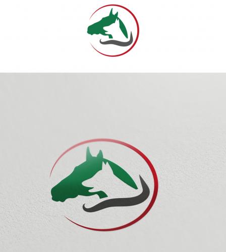 Logo-Design für Blutegel- und Pferdetherapie