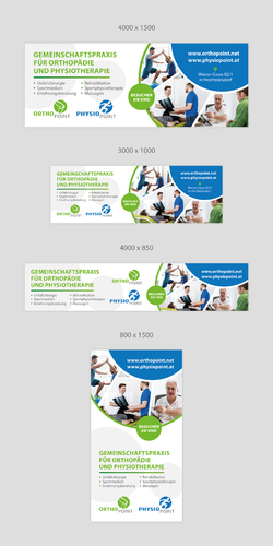 Plakat-Design für Gemeinschaftspraxis