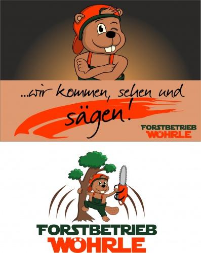 Logo-Design für Forstbetrieb