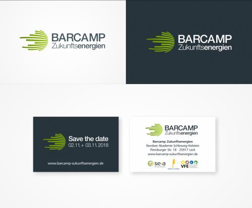 Logo & Visitenkarte für ein Barcamp zum Thema Zukunftsenergien