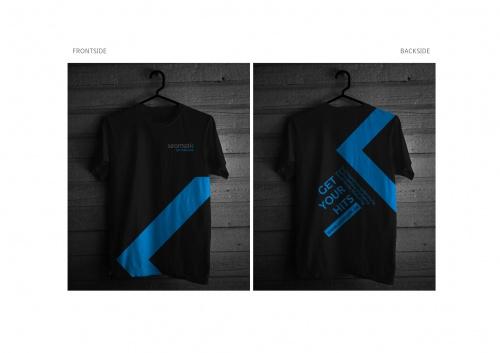 T-Shirt für Online-Marketing-Agentur