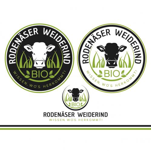 Llares und wieder-erkennbares Logo für Rindfleisch