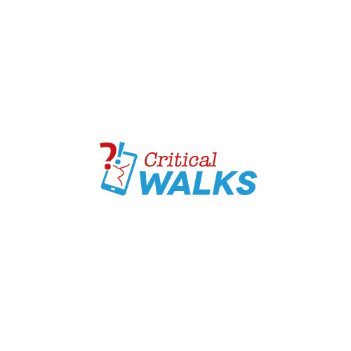 Logo-Design für Critical Walks - History Reclaimed (digitale Geschichtspfade)