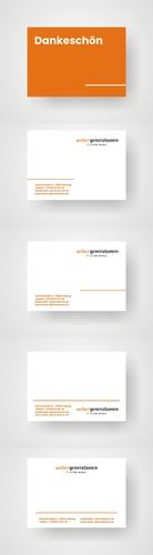 Modernes Karten-Design für Finanzdienstleister