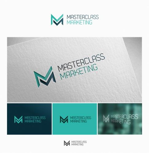 Logo-Design für masterclass marketing