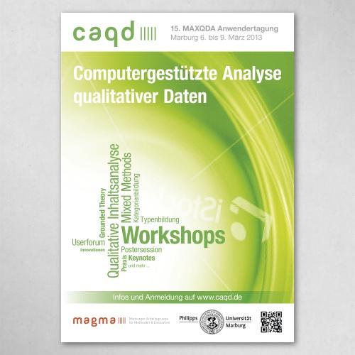 Plakat für eine wissenschaftliche Tagung