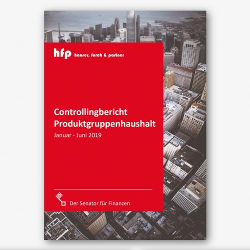Berichtslayout für Unternehmensberatung mit Schwerpunkt Softwareentwicklung für den Public Sektor