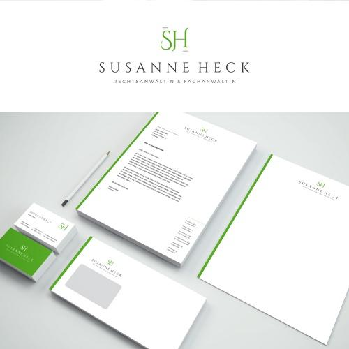 Corporate-Design für Rechtsanwältin