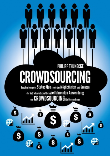 Front Page for a Master Thesis about Crowdsourcing