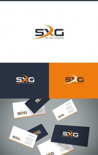 Logo für ein Unternehmen im Bereich Webdesign, Fotografie und Softwareentwicklung