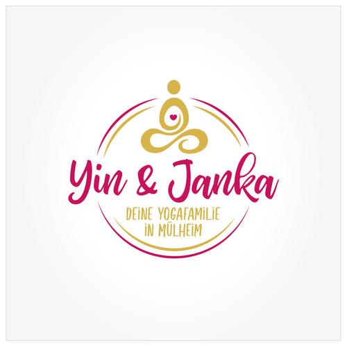 Logo-Design für kleines Yogastudio