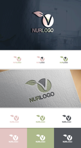 Logo-Design für vegane Ernährung