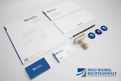 Corporate Design für Anwaltskanzlei