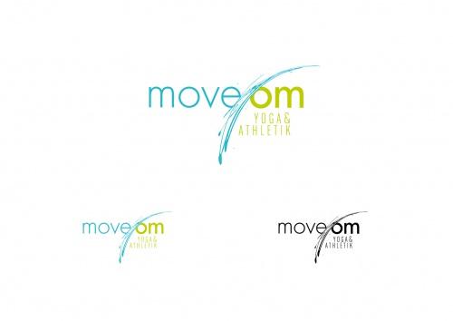 Logo Design fr das Yoga