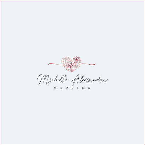 Logo-Design für Hochzeitsplanung