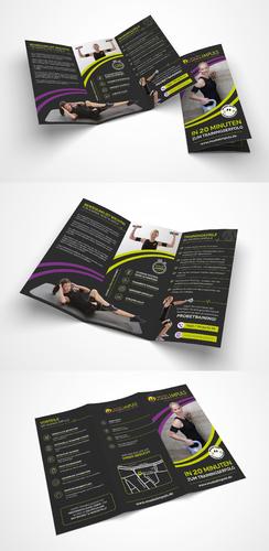 Flyer-Design für EMS-Training