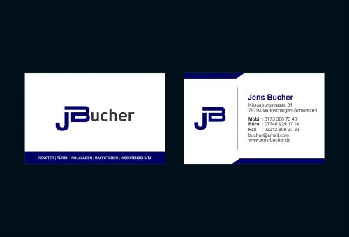 Logo & Visitenkarte für Schreinermonteur (Fenster und Türen)