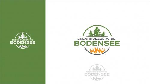Logo-Design für Brennholzservice