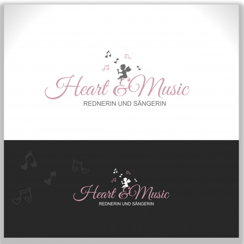 Logo-Design für heart & music