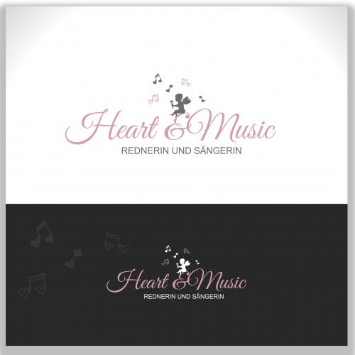 Logo-Design für heart & music