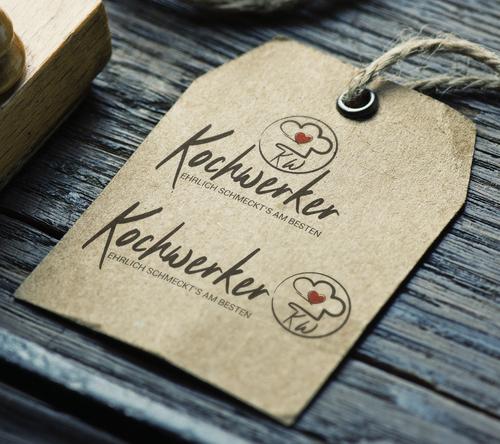 Logo-Design für Vertrieb von Kochzutaten