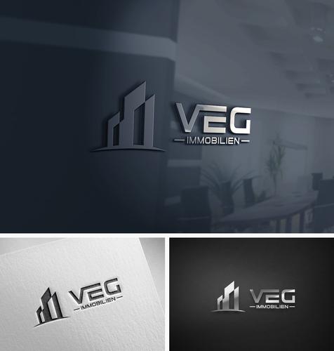 Logo-Design für Immobilien-Makler Unternehmen