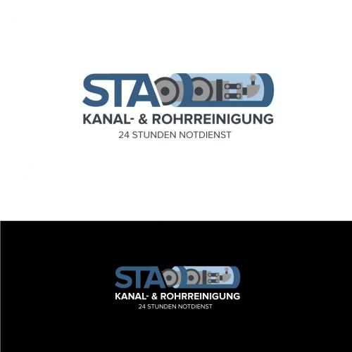 Logo-Design für eine Rohrreinigungsfirma