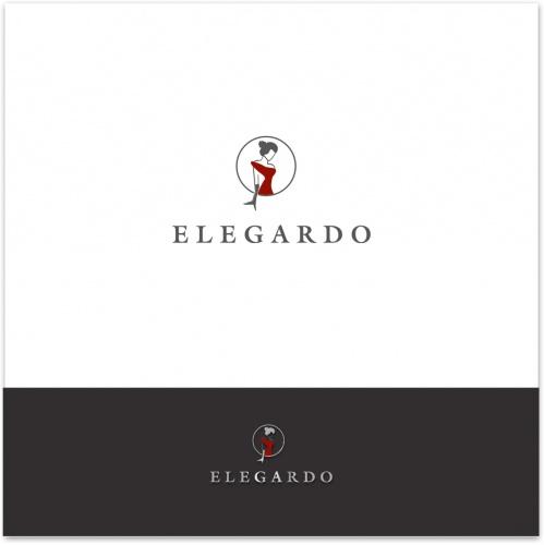 Logo-Design für Elegardo - Elegante Abendkleider zum günstigen Preis