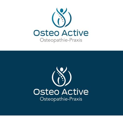 Logo & Visitenkarte für Osteopathie-Praxis