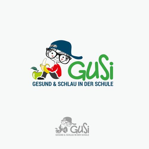 Logo-Design für gesunde Jause in Mittelschulen