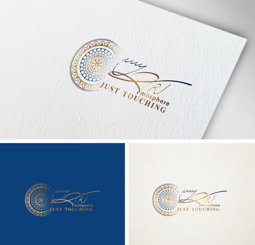 Logo & Visitenkarte myARTmosphere;  fineART - HAUCHdünn - Contemporary Art