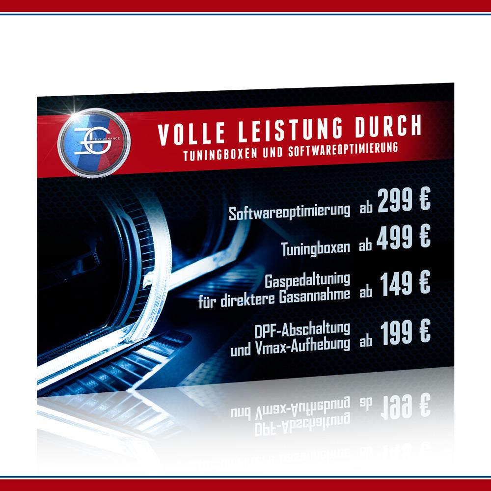 Eg Performance Braucht Werbeflyer Flyer Design