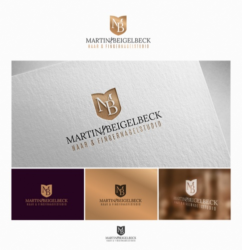 Logo-Design für Haar- & Fingernagelstudio