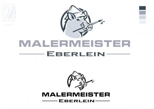 Logo-Design für Malermeister
