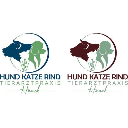 Logo-Design für Tierarztpraxis