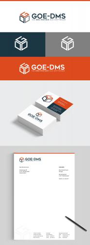 Corporate Design für Beratungen und Dienstleistungen in den Sektoren des Dokumentenmanagements