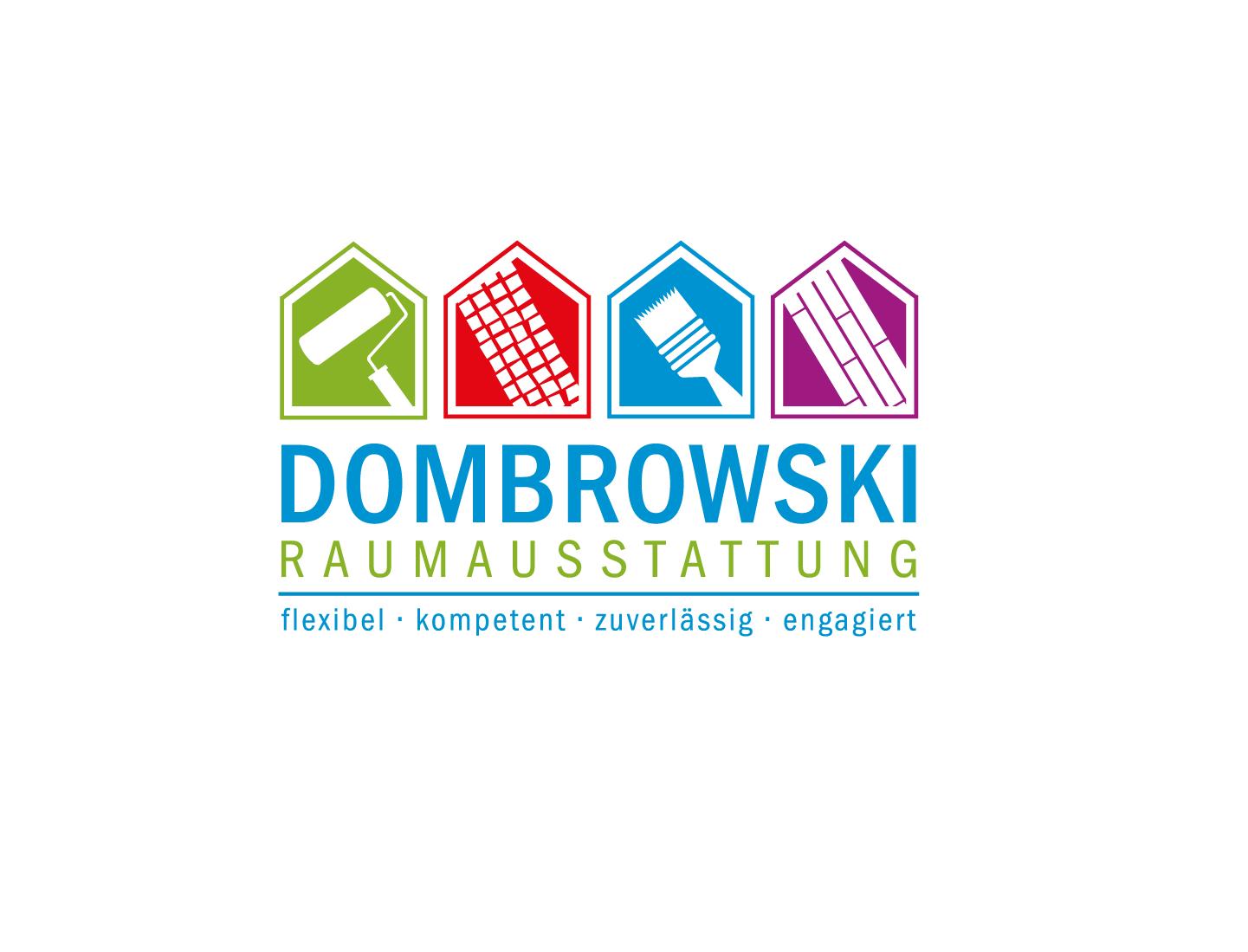 Raumausstatter logo  Dombrowski Raumausstattung » Logo-Design » designenlassen.de