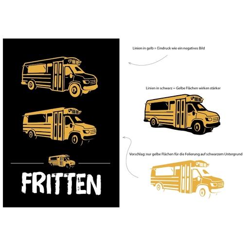 Icon-Design für Verkauf von Premium Street Food