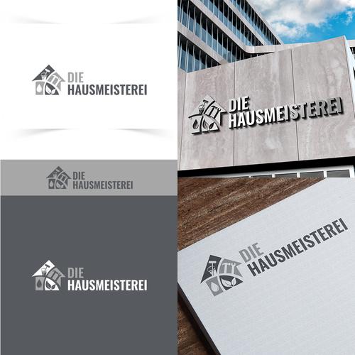 Logo-Design für Hausmeisterservice
