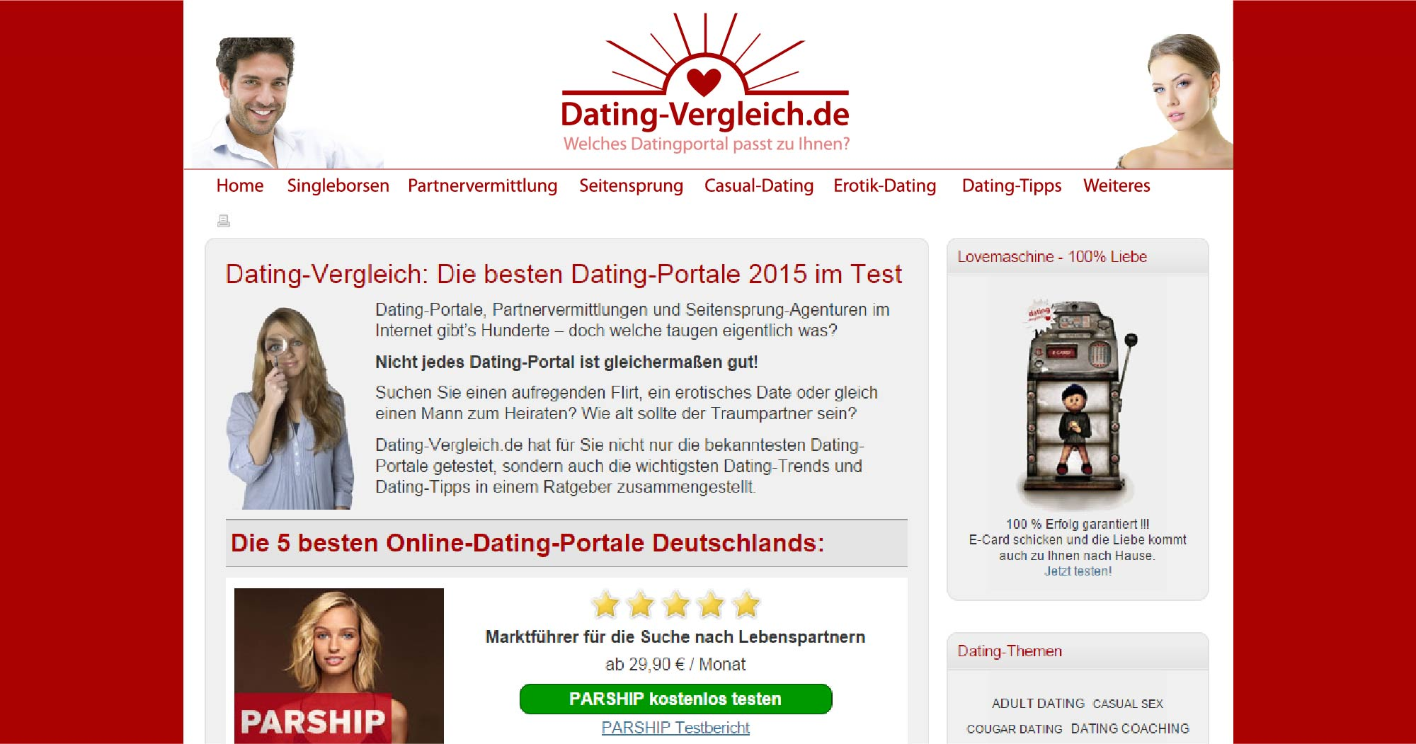 online dating portale vergleich bf1 operations matchmaking failed
