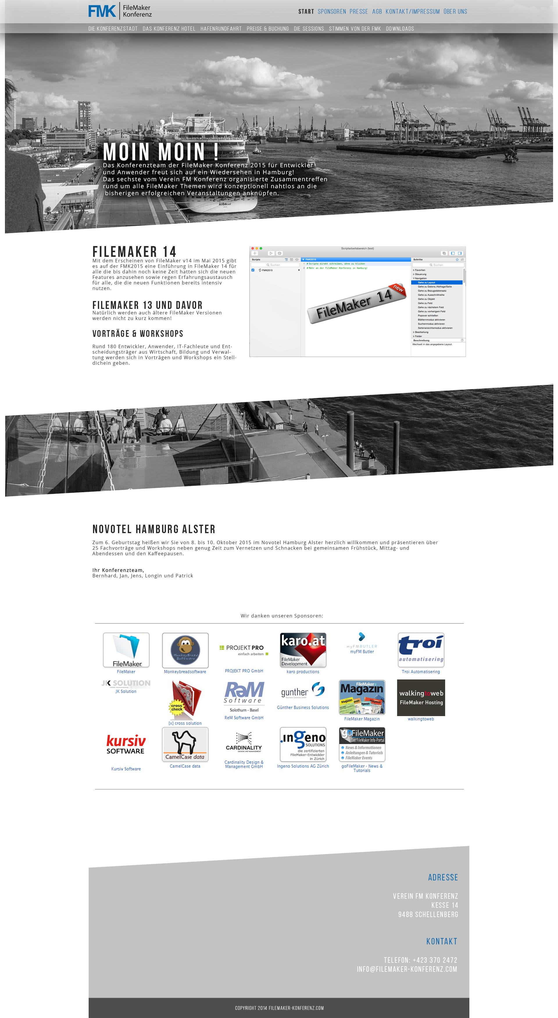 Verein FM Konferenz » Webdesign » designonclick com