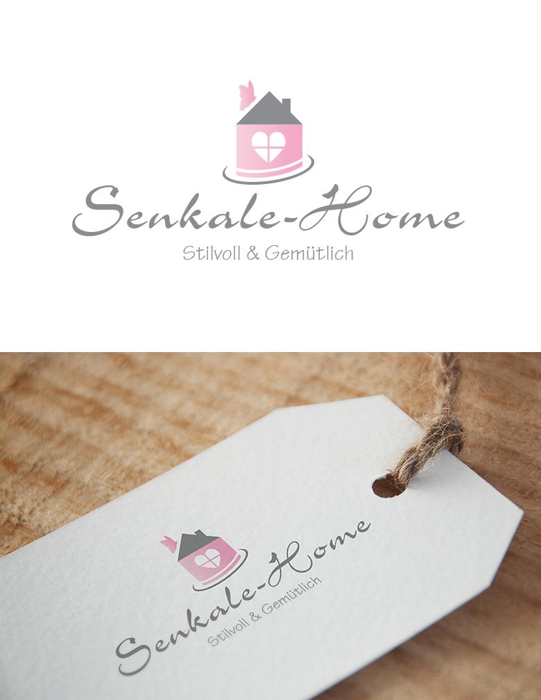 online shop f r wohnaccessoires und wohntextilie logo design briefing. Black Bedroom Furniture Sets. Home Design Ideas