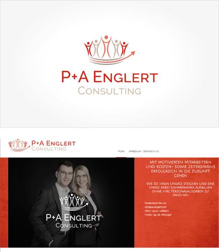 Logo-Design für ein Unternehmerehepaar als Unternehmensberater // Logo for German business consultancy