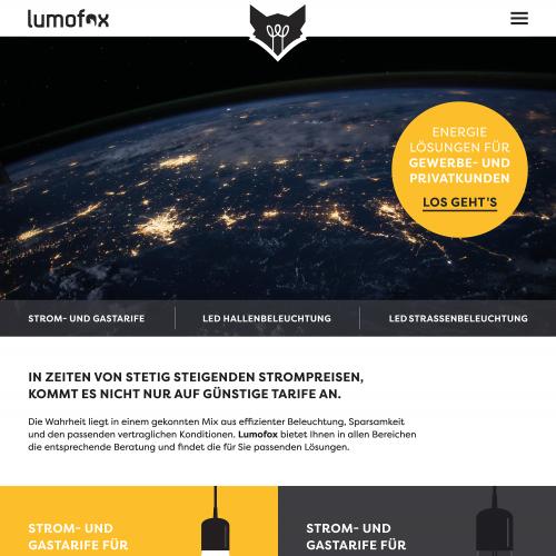 Webdesign für Energieagentur
